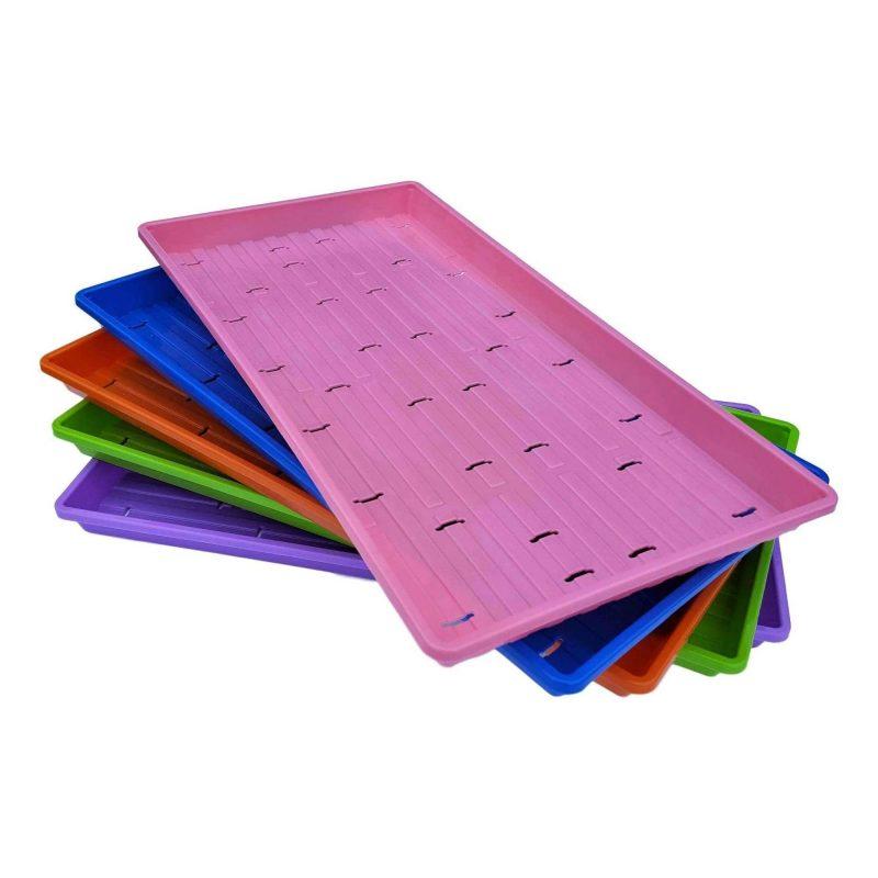 microgreen trays with holes