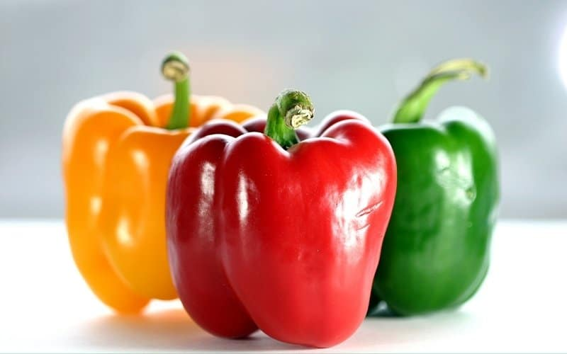 when to pick bell peppers